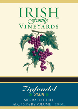 Irish Zinfandel